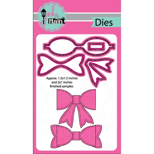 Pink and Main MEDIUM BOW Die Set PNM124 Preview Image