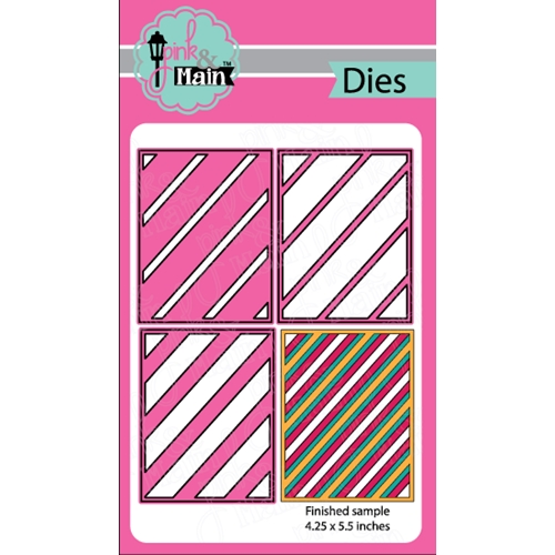 Pink and Main LAYERED STRIPES Die Set PNM126 Preview Image