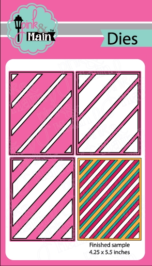 Pink and Main LAYERED STRIPES Die Set PNM126 zoom image