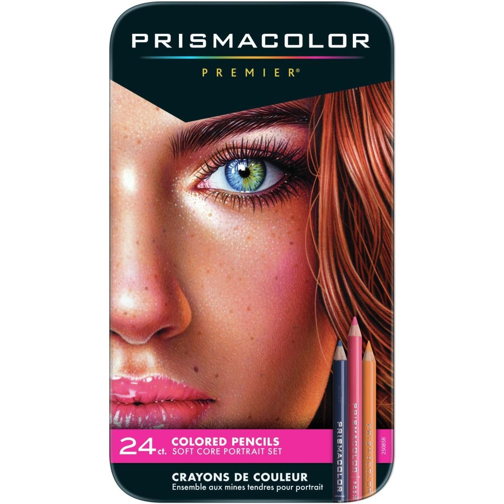 Prismacolor Premier PORTRAIT Colored Pencils Set of 24 25085 zoom image