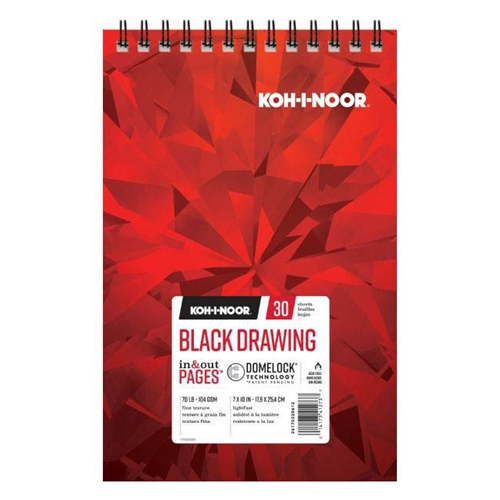 KOH-I-NOOR BLACK DRAWING 7x10 Paper 26170220612* Preview Image