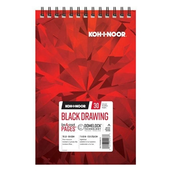 KOH-I-NOOR BLACK DRAWING 7x10 Paper 26170220612*