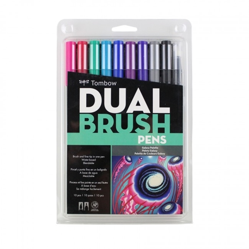 Tombow GALAXY Dual Brush Pens 10 Pack 56188* Preview Image
