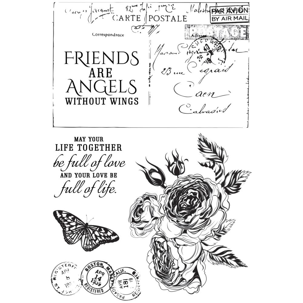 Kaisercraft ROSE AVENUE Clear Stamps CS311* zoom image