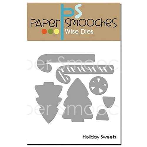 Paper Smooches HOLIDAY SWEETS Wise Dies OCD409* Preview Image