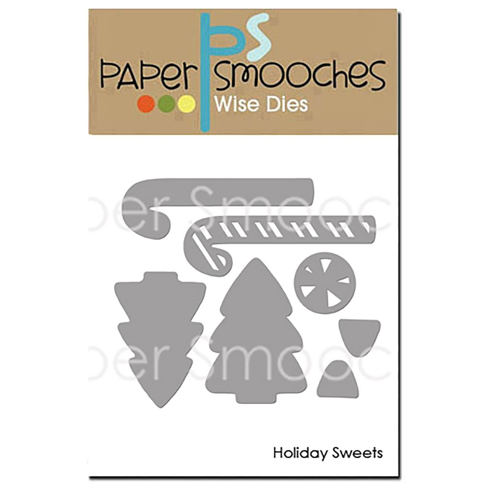 Paper Smooches HOLIDAY SWEETS Wise Dies OCD409* zoom image