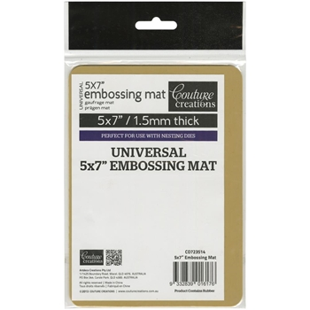 Couture Creations UNIVERSAL 5 x 7 LATEX EMBOSSING MAT CO723514
