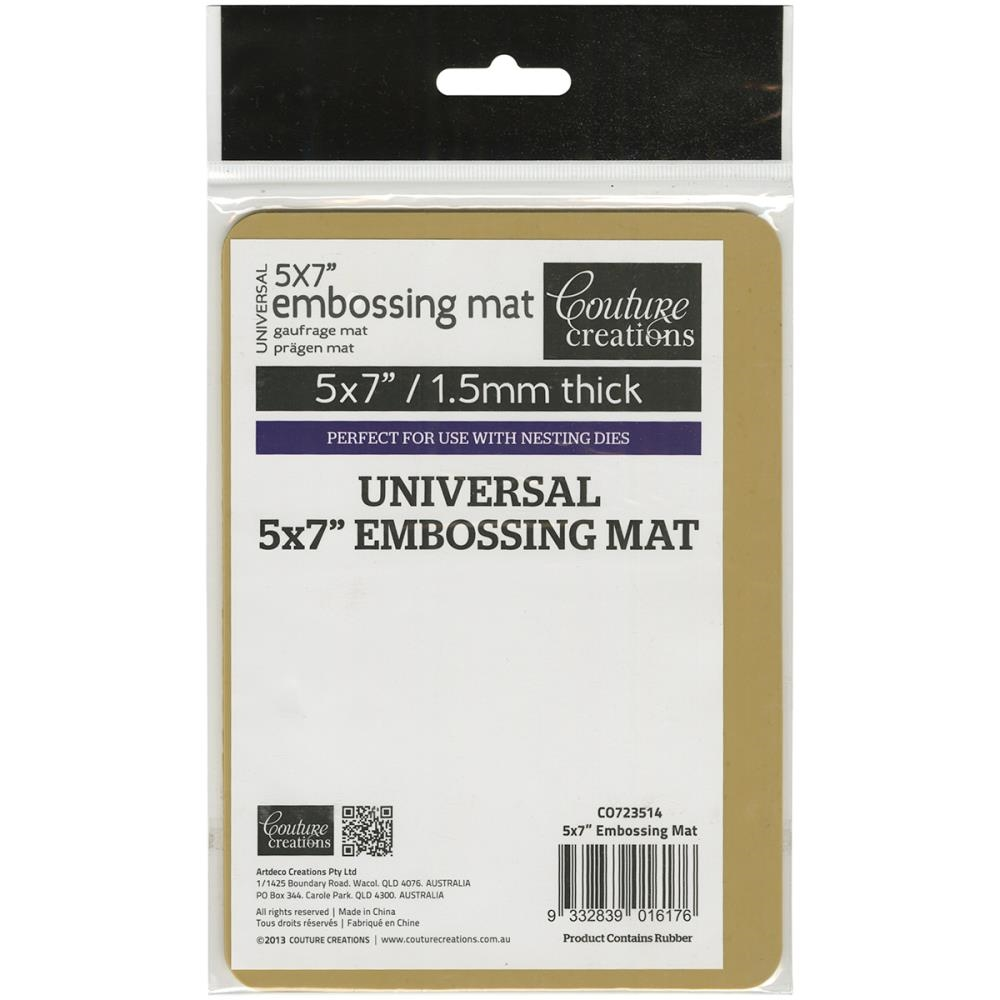 Couture Creations UNIVERSAL 5 x 7 LATEX EMBOSSING MAT CO723514 zoom image