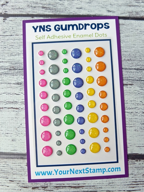 Your Next Stamp SPOOKY CUTE SPARKLY Gumdrops YNSGD088 zoom image