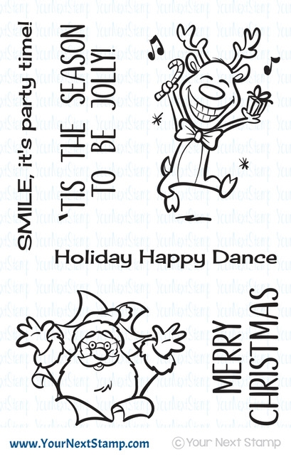 Your Next Stamp BE JOLLY Clear CYNS613 zoom image