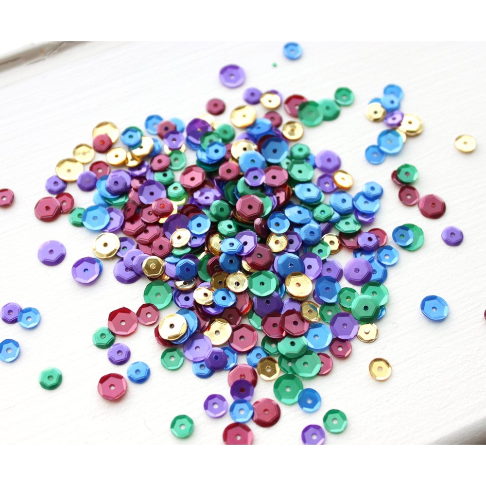 Neat and Tangled JEWEL TONES Sequin Mix NAT312 zoom image