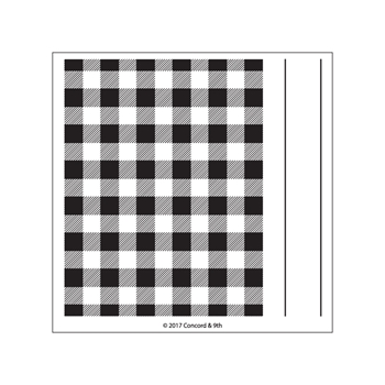 Concord & 9th PLAID BACKGROUND Clear Stamp Set 10269