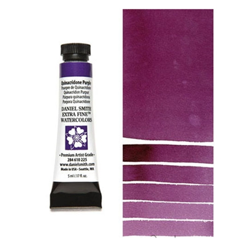 Daniel Smith QUINACRIDONE PURPLE 5ML Extra Fine Watercolor 284610225 Preview Image