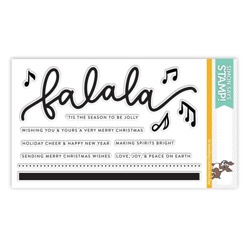Simon Says Clear Stamps FA LA LA SSS101769 Making Spirits Bright Preview Image