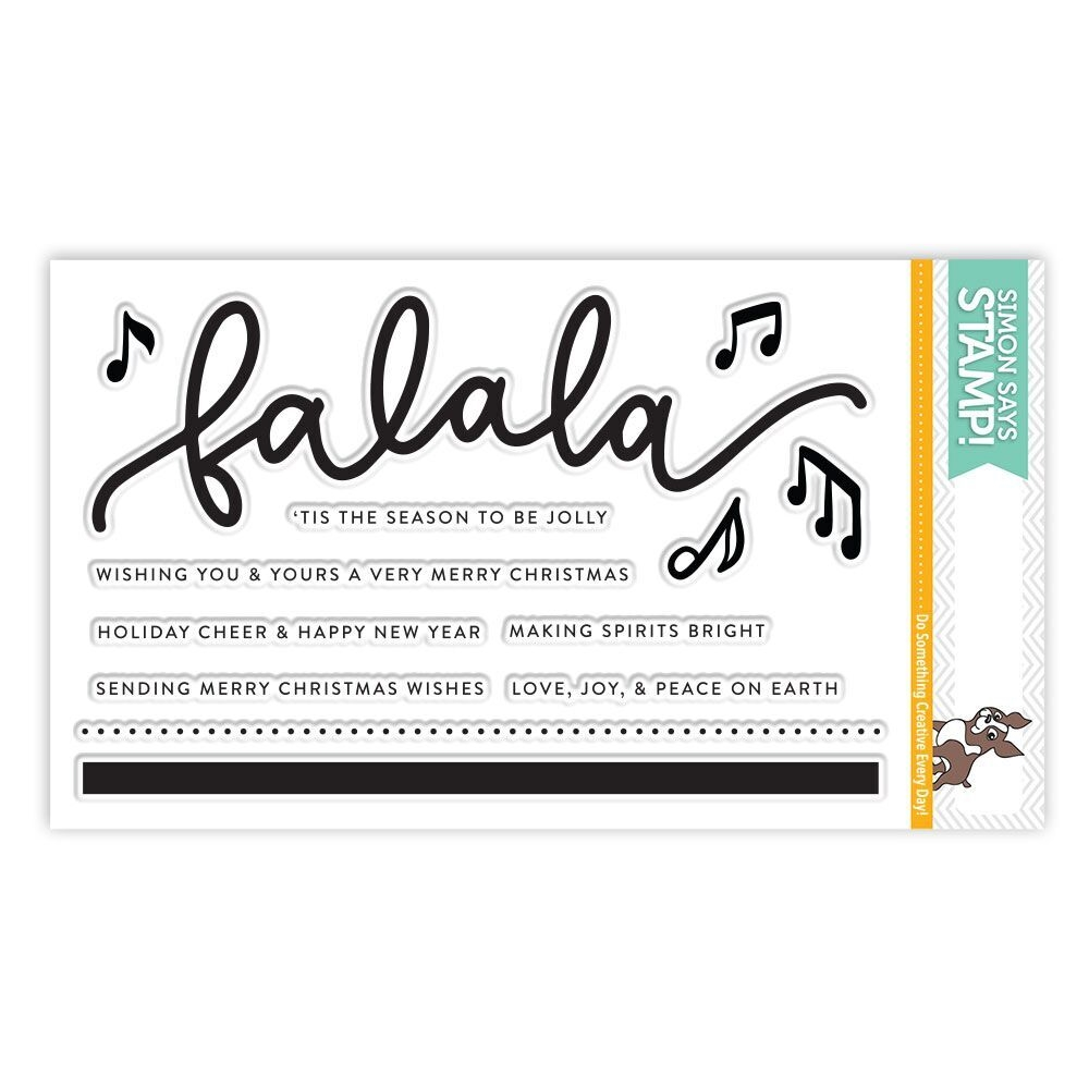 Simon Says Clear Stamps FA LA LA SSS101769 Making Spirits Bright zoom image