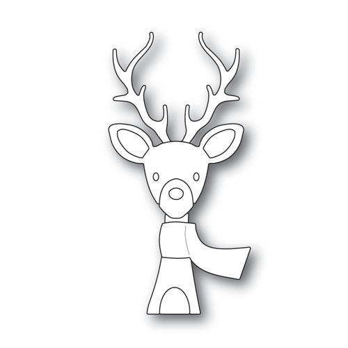Simon Says Stamp PICTURE BOOK DEER Wafer Dies S440 Making Spirits Bright Preview Image