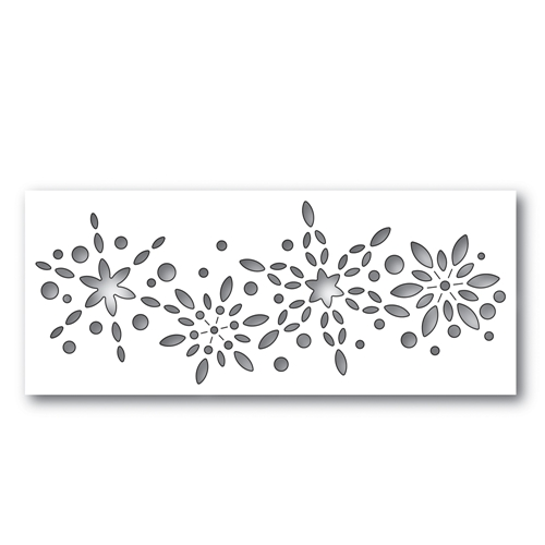 Simon Says Stamp SNOWBURST COLLAGE Wafer Dies S482 Making Spirits Bright Preview Image