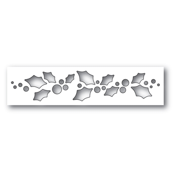 Simon Says Stamp HOLLY FANFARE Wafer Dies S493 Making Spirits Bright