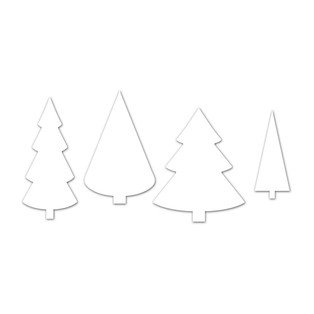Simon Says Stamp CHRISTMAS TREES Wafer Dies SSSD111745 Making Spirits Bright zoom image