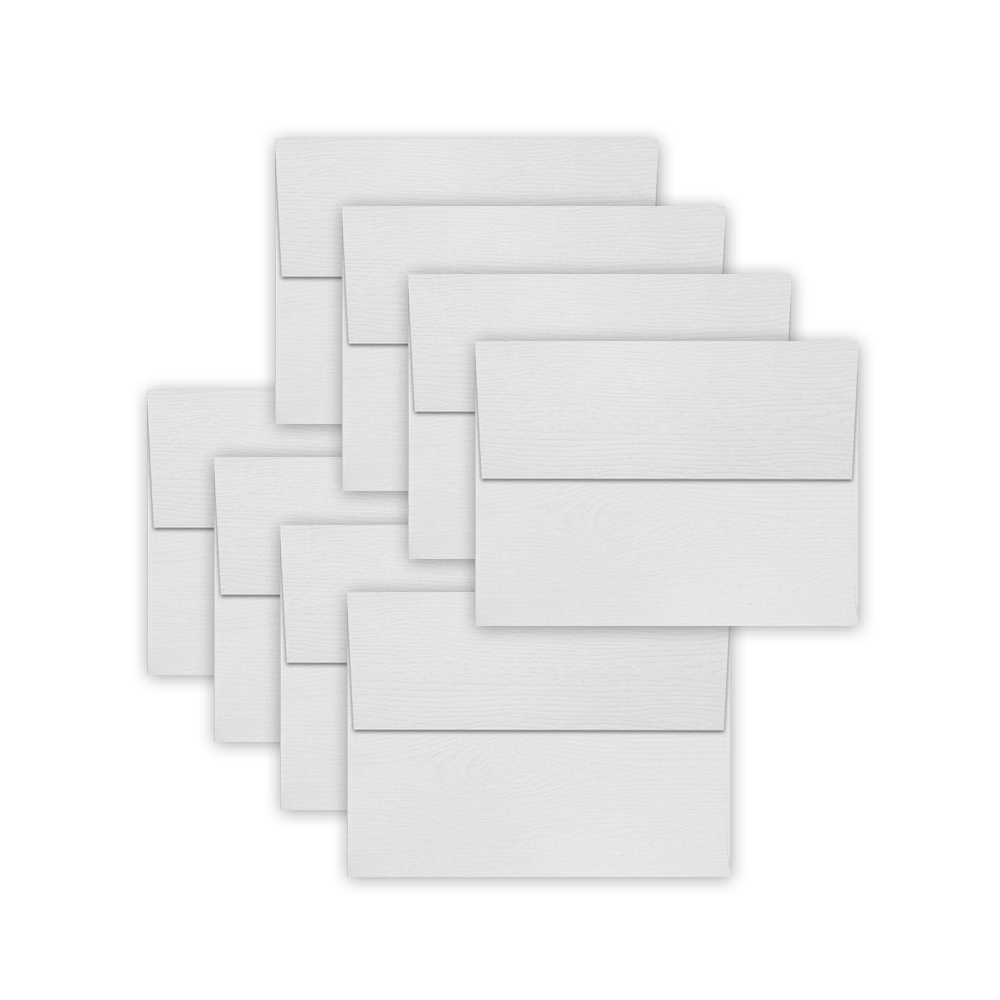 Simon Says Stamp Envelopes WHITE WOODGRAIN SSSE57 zoom image