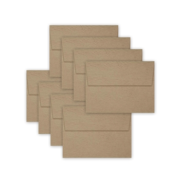 Simon Says Stamp Envelopes KHAKI WOODGRAIN SSSE58