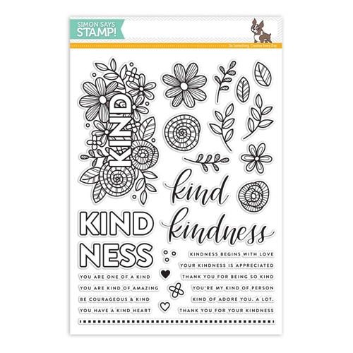 Simon Says Clear Stamps KIND FLOWERS SSS101712 Preview Image