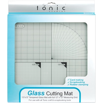 Tonic 12 x 12 TEMPERED GLASS CUTTING MAT 350e