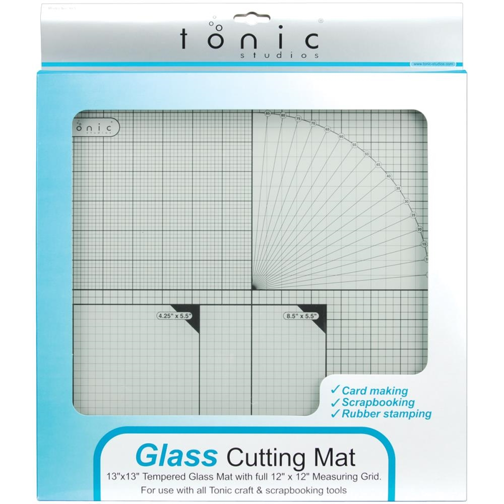 Tonic 12 x 12 TEMPERED GLASS CUTTING MAT 350e zoom image