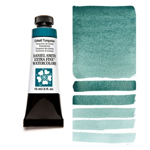 Daniel Smith COBALT TURQUOISE 15ML Extra Fine Watercolor 284600029 Preview Image