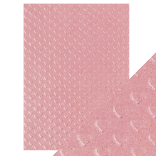 Tonic BLUSH HEARTBEAT Hand Crafted Embossed Cotton A4 Paper Pack 9800e* Preview Image