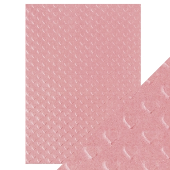 Tonic BLUSH HEARTBEAT Hand Crafted Embossed Cotton A4 Paper Pack 9800e*