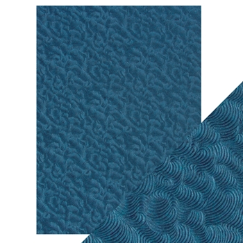 Tonic DEEP SEA DIVE Hand Crafted Embossed Cotton A4 Paper Pack 9806e*