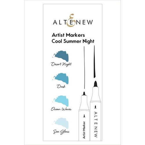 Altenew Artists Markers COOL SUMMER SET ALT1865 Preview Image