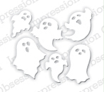 Impression Obsession Steel Die MINI GHOSTS DIE327-C