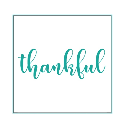 Gina K Designs THANKFUL Die 9353 Preview Image