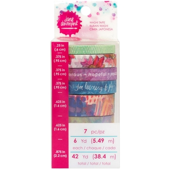 Jane Davenport FANTASTICAL Washi Tape Rolls Mixed Media 376761*
