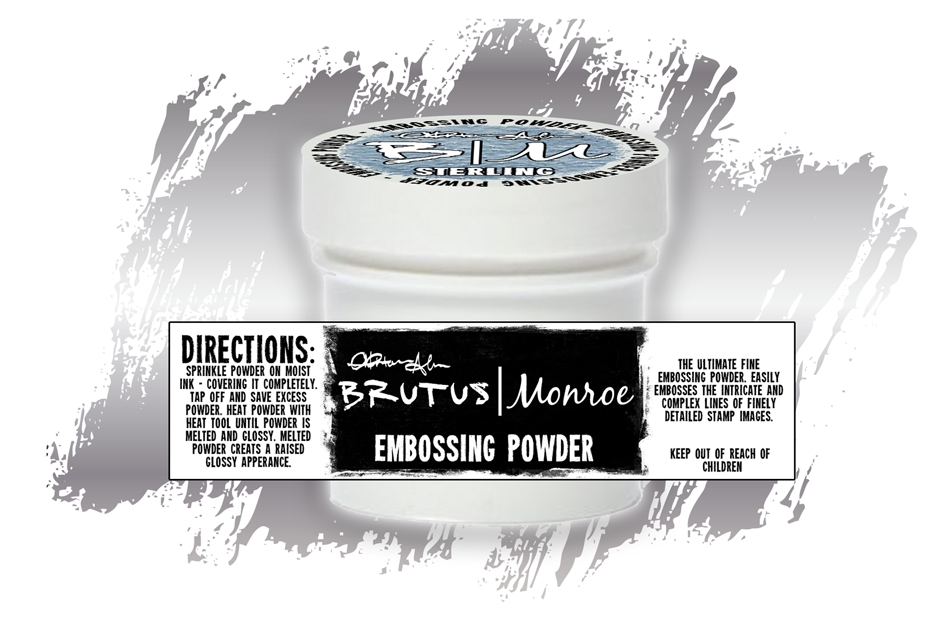 Brutus Monroe STERLING Ultra Fine Embossing Powder BRU2500 zoom image
