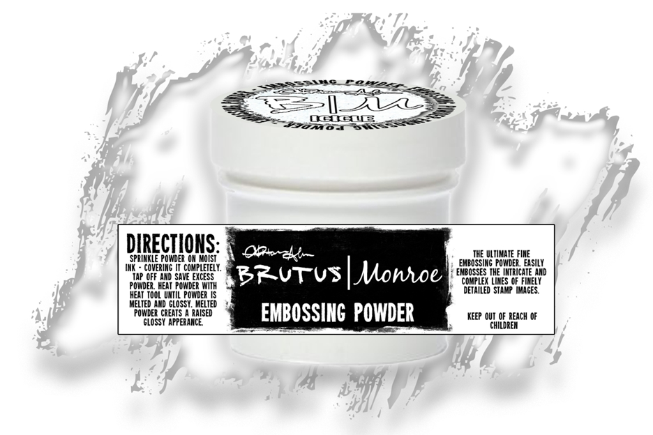 Brutus Monroe ICICLE Ultra Fine Embossing Powder BRU2517 zoom image