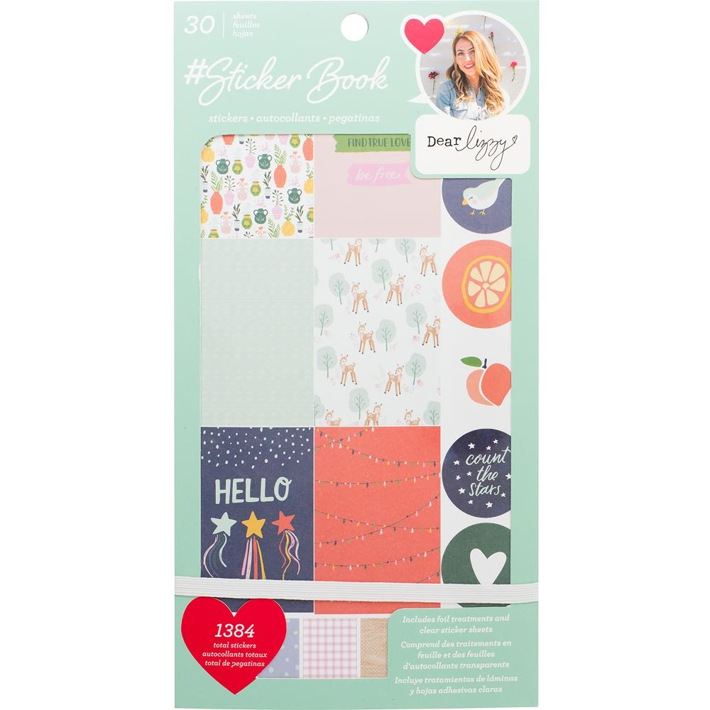 American Crafts DEAR LIZZY #Sticker Book Stickers 344861* zoom image