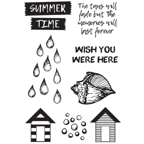 Kaisercraft SUMMER SPLASH Clear Stamps CS314* Preview Image