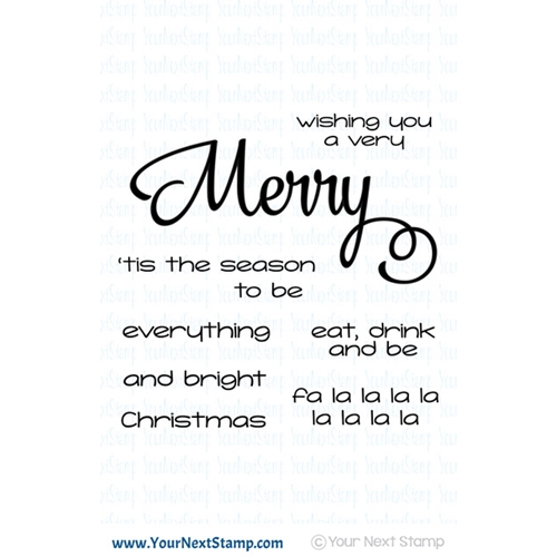 Your Next Stamp MERRY EVERYTHING Clear cyns616 Preview Image