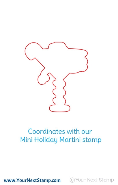 Your Next Die MINI HOLIDAY MARTINI ynsd685* zoom image