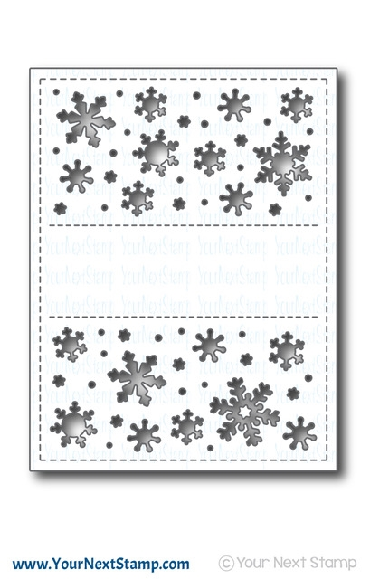 Your Next Die SNOWFLAKE PANEL ynsd705* zoom image