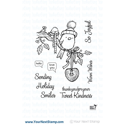 Your Next Stamp TWEET KINDNESS Clear cyns608 Preview Image