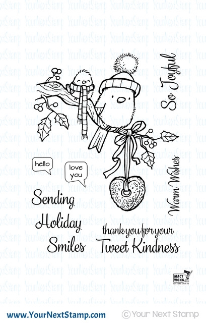 Your Next Stamp TWEET KINDNESS Clear cyns608 zoom image