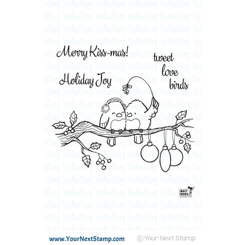 Your Next Stamp TWEET LOVE BIRDS Clear cyns607* Preview Image