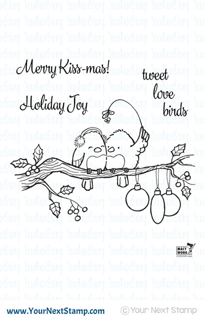 Your Next Stamp TWEET LOVE BIRDS Clear cyns607* zoom image