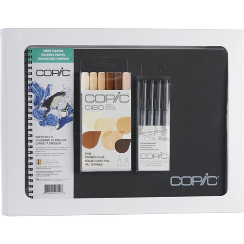 Copic Limited Edition CIAO SKETCHBOOK KIT FACES SKIN & HAIR COLORS 008089* Preview Image