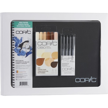 Copic Limited Edition CIAO SKETCHBOOK KIT FACES SKIN & HAIR COLORS 008089*