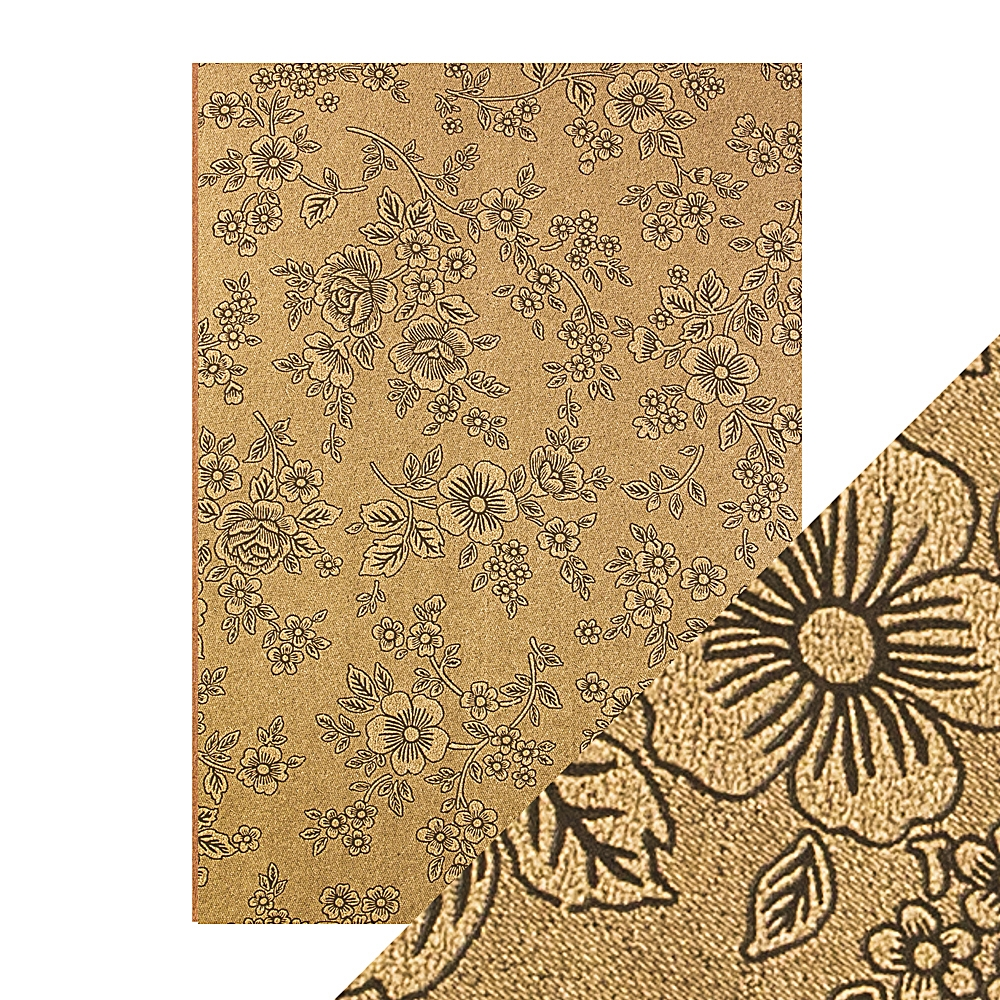 Tonic UMBER ETCHING A4 Embossed Paper Pack 9833e zoom image